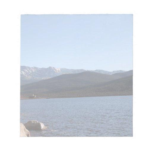 Lago turquoise, Colorado Bloc De Papel