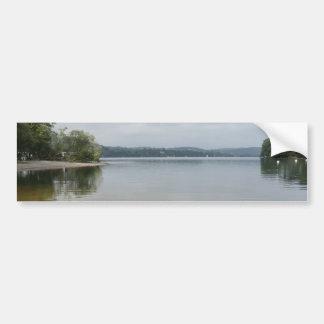 Lago Ullswater de Howtown, Cumbria Pegatina Para Auto