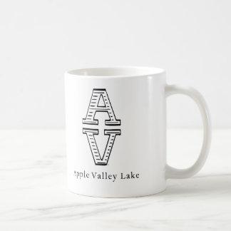 Lago valley de Apple Taza Clásica