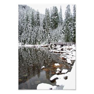 Lago veintidós print de la fotografía de la bella