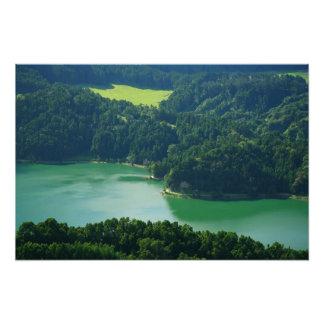 Lago verde fotografía