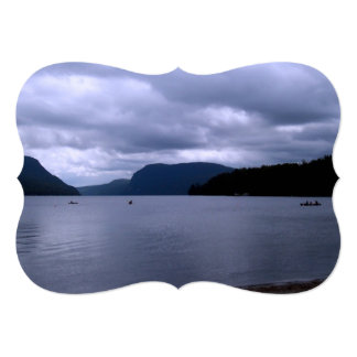 "Lago vermont invitación 5"" x 7"""
