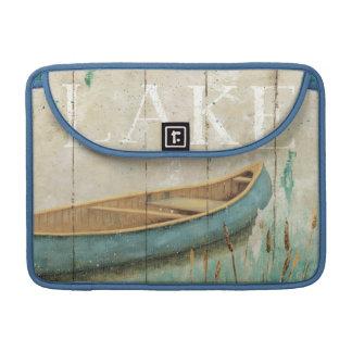 Lago vintage fundas para macbook pro