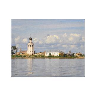 Lago Vologda Rusia Kubensky del monasterio de Kame