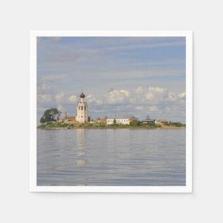Lago Vologda Rusia Kubensky del monasterio de Servilletas De Papel