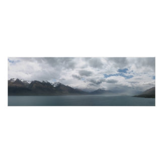 Lago Wakatipu, Nueva Zelanda Posters