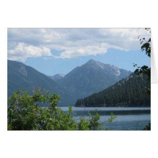 Lago Wallowa, Oregon Tarjeta De Felicitación