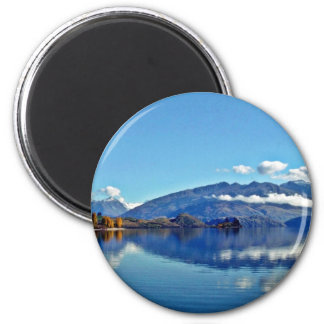Lago Wanaka Imán Redondo 5 Cm