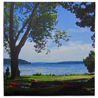 Lago Washington Servilletas De Papel