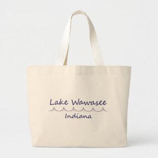 Lago Wawasee, Indiana Bolsa Tela Grande
