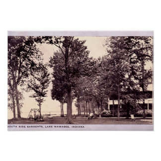Lago Wawasee, Indiana Posters