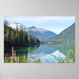 Lago whistler póster