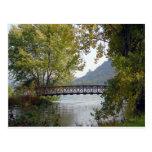 Lago Winona - Winona, manganeso Tarjeta Postal