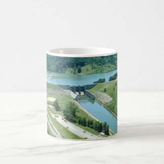 Lago y presa Burnsville Taza