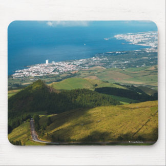 Lagoa and Ponta Delgada Mouse Pad