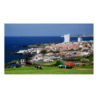 Lagoa, Azores - 2012 pocket calendar Business Card Template