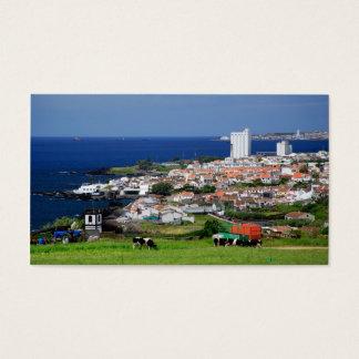 Lagoa, Azores - 2012 pocket calendar Business Card