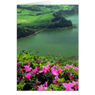 Lagoa das Furnas - Açores Greeting Cards