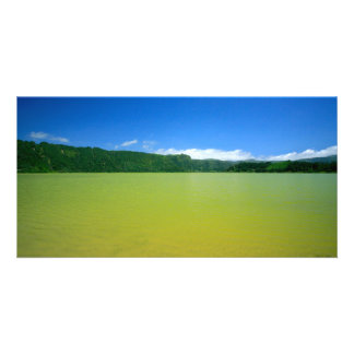 Lagoa das Furnas - Açores Photo Card Template