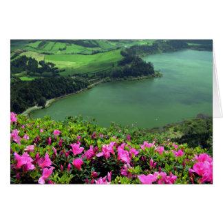 Lagoa das Furnas - Açores Felicitación