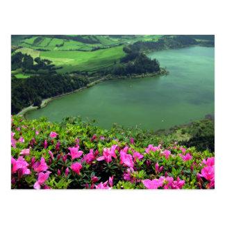 Lagoa das Furnas - Açores Tarjeta Postal