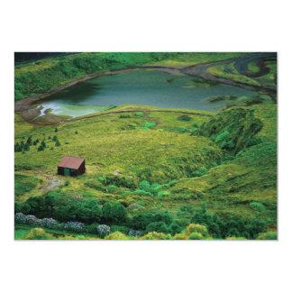 Lagoa do Carvao - Azores 5x7 Paper Invitation Card