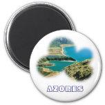 Lagoa do Fogo, Azores 2 Inch Round Magnet