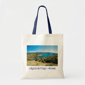 Lagoa do Fogo Azores Canvas Bag
