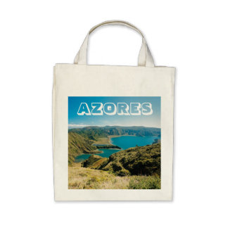 Lagoa do Fogo Azores Tote Bags