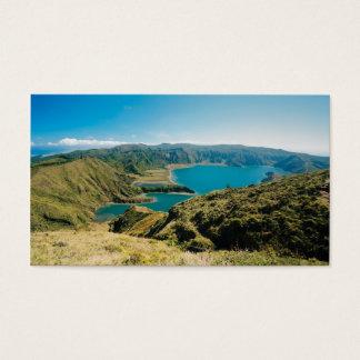 Lagoa do Fogo, Azores Business Card