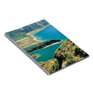 Lagoa do Fogo, Azores Spiral Note Books