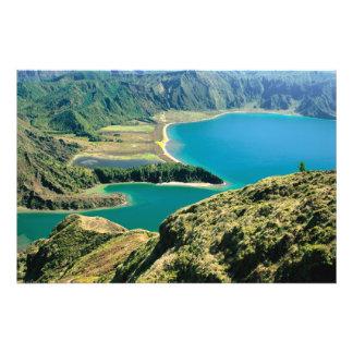 Lagoa do Fogo, Azores Photo Print