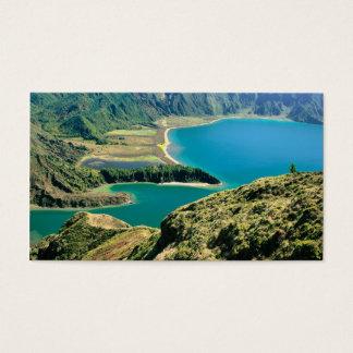Lagoa do Fogo, Azores - Pocket calendar Business Card
