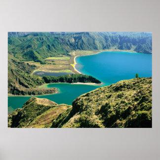 Lagoa do Fogo - Azores Poster