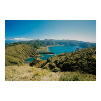 Lagoa do Fogo, Azores Poster