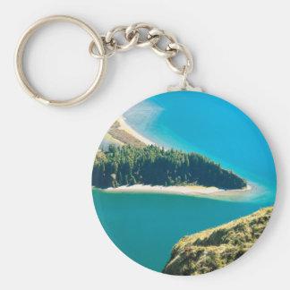Lagoa do Fogo Keychain