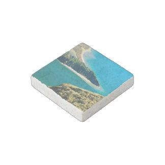 Lagoa do Fogo Stone Magnet