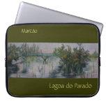 Lagoa do Parado Bordered Customizable Laptop Case Laptop Computer Sleeve