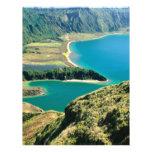 Lagoa hace Fogo - Azores Flyer A Todo Color
