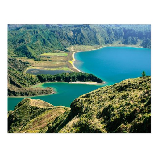Lagoa hace Fogo, Azores Postal