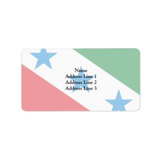 Lagoinha Saopaulo Brasil, Brazil Custom Address Labels