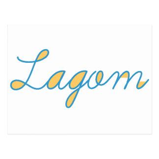 Lagom Postcard