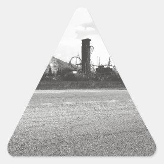 Lagoon Asphalt 1 Triangle Sticker