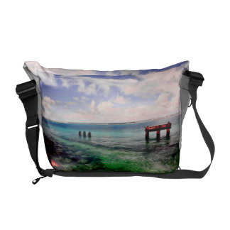Lagoon Courier Bag