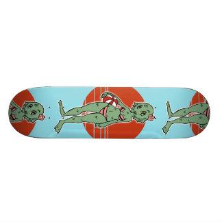 Lagoon Creature Girl Skateboard