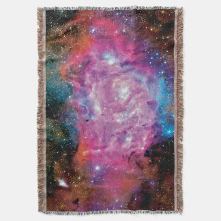 Lagoon Emission Nebula Interstellar Cloud Photo Throw