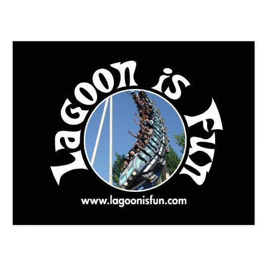 Lagoon Is Fun - Colossus Dark Postcard