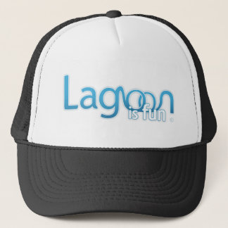 Lagoon Is Fun Logo Trucker Hat