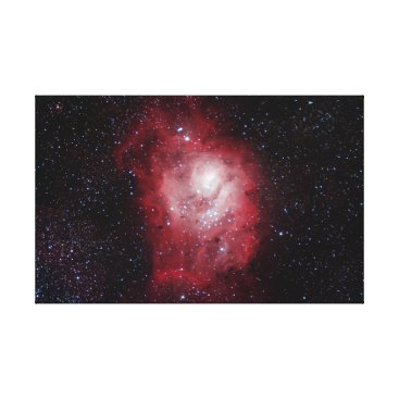 Art Themed Lagoon Nebula #4 Canvas Print