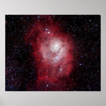 Art Themed Lagoon Nebula #4 Poster